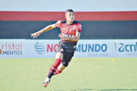 Júnior Brandão está perto do Goiás (Foto: Divulgação/Atlético-GO)