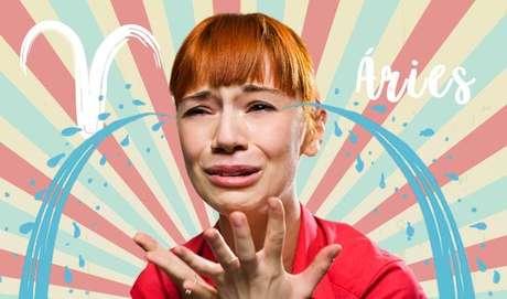 ÁRIES - Chorar – de raiva! – não é muito difícil pra esse signo. Impulsivo, quando Áries se estressa, pode ficar bem manhoso(a) – porém uma manha passageira, pois seguir em frente é com ele(a) mesmo!