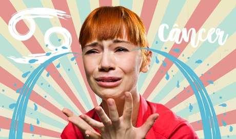 CÂNCER - O troféu de quem derrama mais lágrimas vai, sem dúvida, para o(a) canceriano(a). Esse signo não precisa esperar uma tragédia pra se emocionar: qualquer coisa pode virar motivo pra cair no choro.