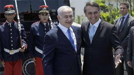 Netanyahu chegou ao Brasil no fim de semana e confirmou presença na posse de Bolsonaro