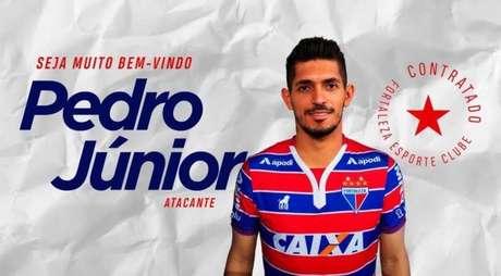 Pedro Júnior é anunciado pelo Fortaleza.