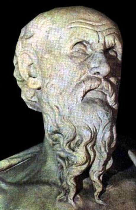 Hesíodo (viveu entre o século 8 e 7 A.C.)