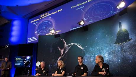 Alan Stern e sua equipe explicam missão em busca de imagens de Ultima Thule