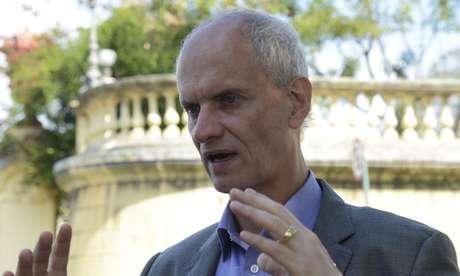 O diretor do Museu Nacional do Rio de Janeiro, Alexander Kellner, na Quinta da Boa Vista