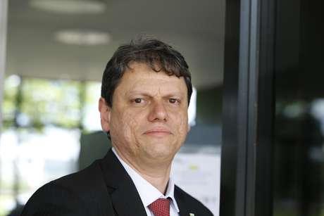O engenheiro Tarcísio Gomes de Freitas, ministro da Infraestrutura