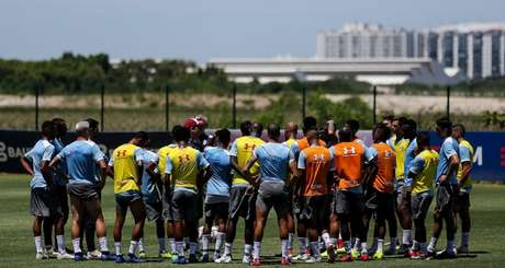 Fluminense se reapresentou no CT (Foto: Divulgação/Fluminense)
