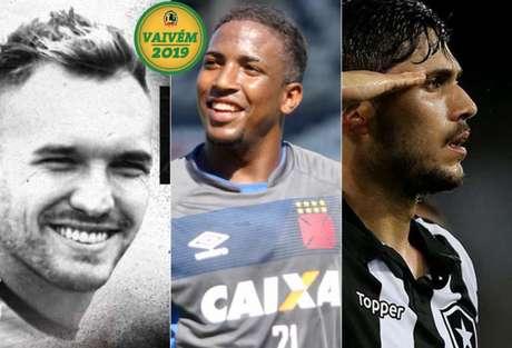 William Farias, Thalles e Igor Rabello são os destaques do Vaivém desta quinta-feira. (Foto: Divulgação)