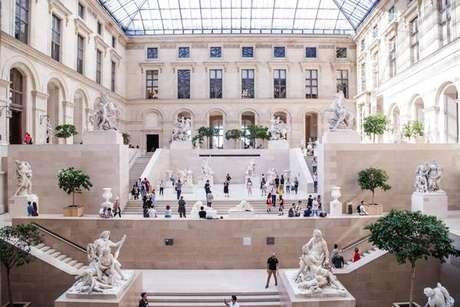 Museu do Louvre bate recorde de visitantes em 2018