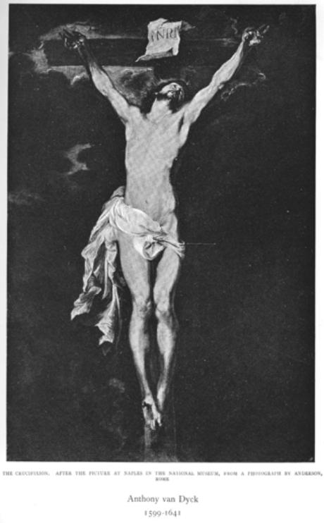 A crucificação (A. van Dyck, 1599-1641)
