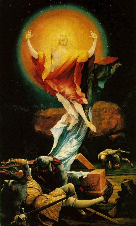 A Ressurreição de Cristo (tela de M.Grünewald, 1515)