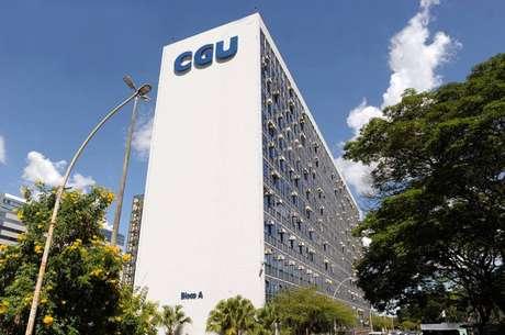 A sede CGU, em Brasília
