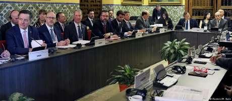 Chefes da diplomacia dos países que integram o Grupo de Lima se reuniram na capital peruana nesta sexta-feira
