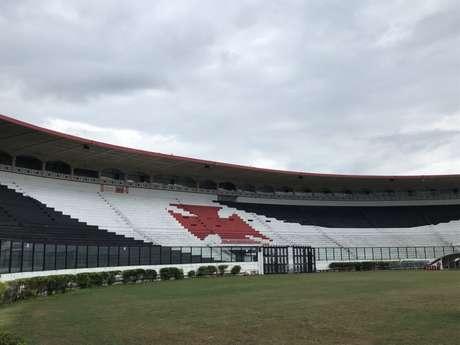 Dívida do Vasco com a Cedae gira em torno de R$ 10 milhões (Foto: Bárbara Mendonça/LANCE!)