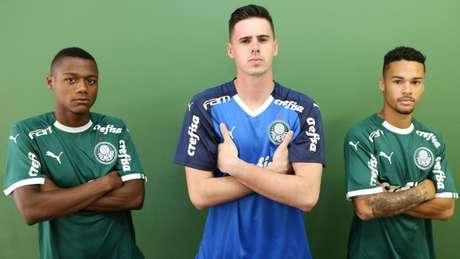 Garotos garantiram uma estreia com vitória para o novo uniforme do clube (Fabio Menotti/Ag. Palmeiras/Divulgação)