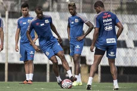 Santos treinou pelo terceiro dia sob o comando de Jorge Sampaoli nesta pré-temporada (Foto: Ivan Storti/Santos)