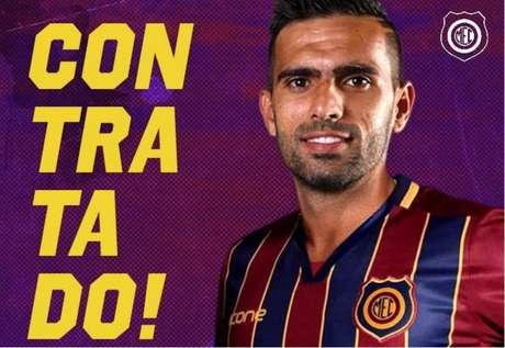 Rodrigo Dantas foi anunciado pelo Madureira (Foto: Reprodução)