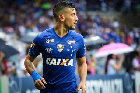 Arrascaeta, do Cruzeiro, durante Cruzeiro x Flamengo, partida válida pela trigésima sétima rodada do Campeonato Brasileiro 2018 Série A, realizada no Estádio Mineirão, Belo Horizonte, MG  (25/11/2018)