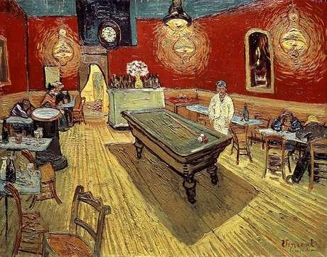 Vincent visitava bastante o café da Place Lamartine, seu local preferido da cidade
