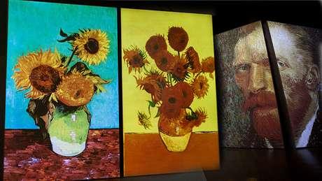 Os girassóis eram um tema frequenta nas pinturas do artista