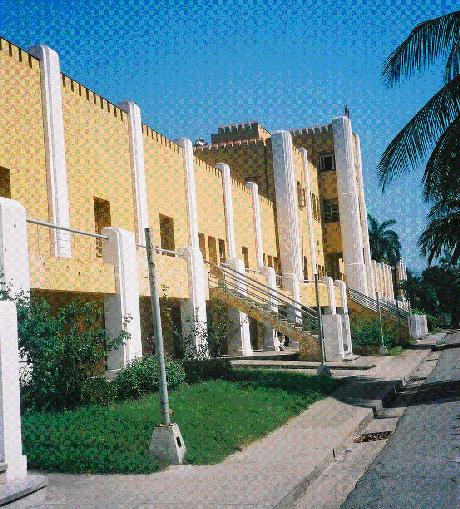 Fachada do quartel Moncada, hoje museu revolucionário