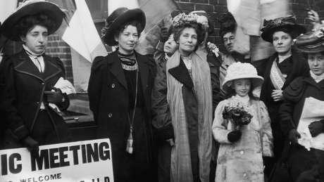 O movimento sufragista se inspirou na rainha guerreira em sua luta pelo voto