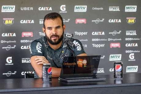 Welison estava machucado quando Levir chegou e agora inicia a pré-temporada com o treinador buscando seu espaço na equipe- Divulgação