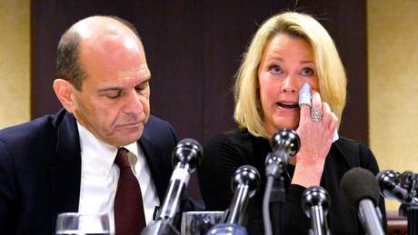 Heather Unruh acusa Kevin Spacey de abusar sexualmente de seu filho
