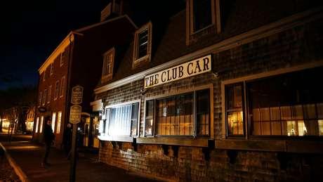 Restaurante The Club Car, onde teria ocorrido o ataque sexual ao jovem