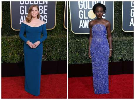 Amy Adams e Lupita Nyong'o (Fotos: E! Entertainment/Divulgação)