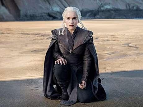 Emilia Clarke como Daenerys Targaryen em 'Game of Thrones'