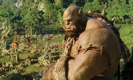 Cena do filme Warcraft