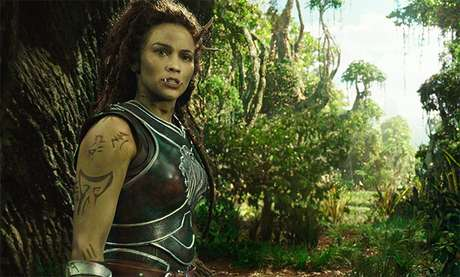 Paula Patton interpreta Garona Halforcen, meio-draenei e meio-orc
