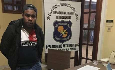Integrante do Comando Vermelho, otraficante brasileiro Fábio de Souza Santos, o 'Geleia', foi expulso do Paraguai