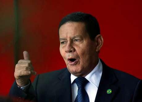 Vice-presidente Hamilton Mourão em Brasília 28/11/2018 REUTERS/Adriano Machado