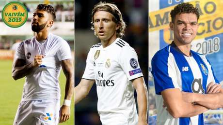 Gabigol, Modric e Pepe são os destaques da manhã desta terça-feira. (Foto: Divulgação)
