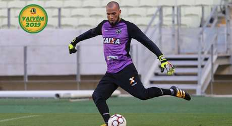 Éverson é a bola da vez no Santos e pode ser contratado pelo Alvinegro em breve (Foto: Israel Simonton/Ceará)