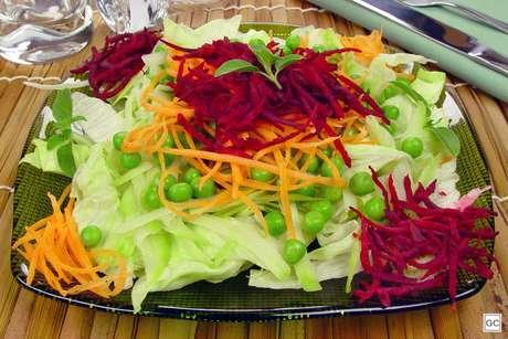 Salada rica de beterraba