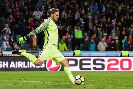 Esloveno é um dos principais nomes do Atlético de Madrid (Foto: JURE MAKOVEC / AFP)