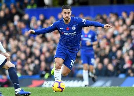 Hazard já tem mais de 300 partidas pelo Chelsea e marcou mais de 100 gols (Foto: Reprodução)