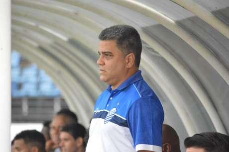 Treinador Marcelo Cabo está otimista para temporada 2019 com o CSA (Foto: Henrique R. Cortez)