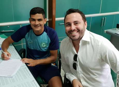 Júnior Brandão chega ao Goiás para temporada 2019 (Foto: Divulgação)