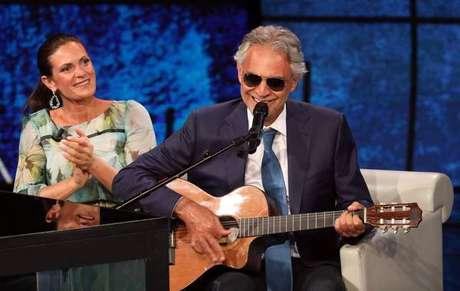 Andrea Bocelli marcará presença no palco do Teatro Ariston