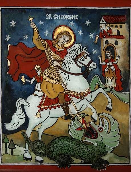 Ícone de São Jorge
