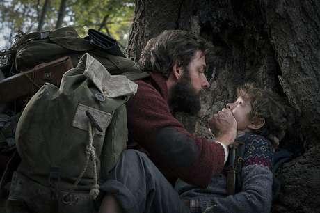 John Krasinski e Noah Jupe em 'Um Lugar Silencioso' (2018)