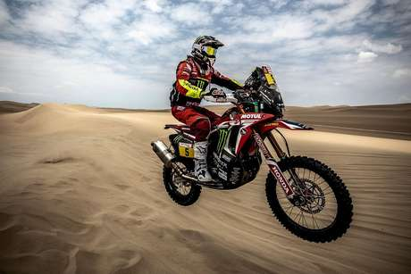Joan Barreda domina a etapa de abertura do Rally Dakar para a Monster Energy Honda Team