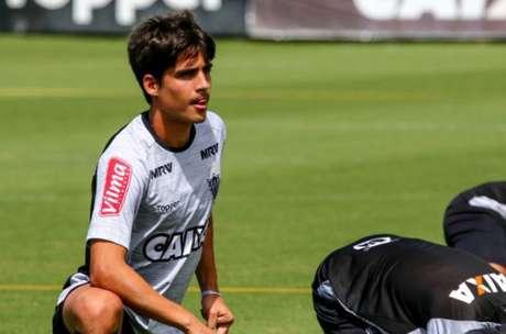 Blanco tem o caso mais ´serio. Ele rompeu os ligamentos do joelho esquerdo e está sem entrar em campo pelo clube há mais de seis meses(Foto: Bruno Cantini/ Atlético-MG)
