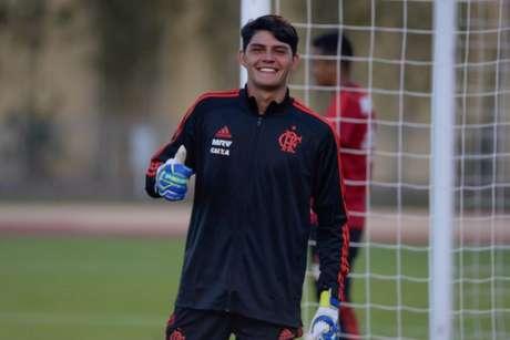 João Fernando em atividade nos Estados Unidos (Alexandre Vidal / Flamengo)