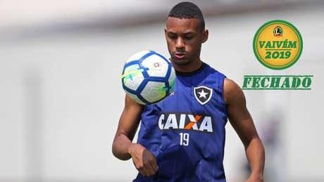 Amilcar é revelado pela base do Botafogo (Foto: Vitor Silva/SSPress/Botafogo)