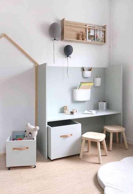 52. Decoração minimalista com caixas organizadoras – Foto: CreasPic