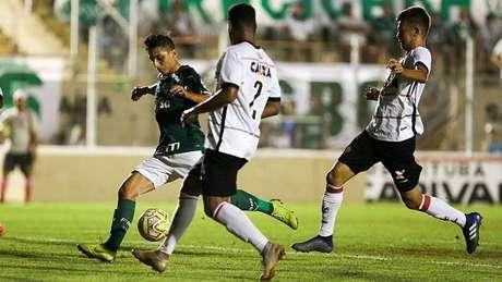 Palmeiras derrotou o Vitória na Copinha